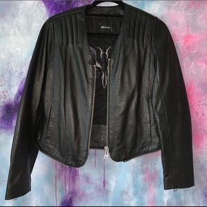 Zadig and Voltaire Leather Jacket